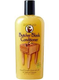 Howard-Butcher Block Conditioner-Butcher Block Conditioner is a revitalizing blend of genuine beeswax, Brazilian carnauba wax (hardest natural wax available), and pure USP Food Grade Mineral Oil that is tasteless, odorless, and will never go rancid