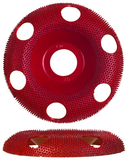 Holey Galahad Round/ Medium /Red