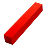 "Solid Red Pen Blank 3/4""X3/4""x5"""