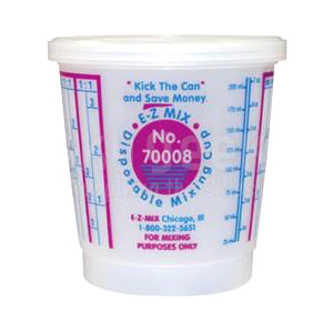 E-Z-Mix-1/2 PInt mixing cup