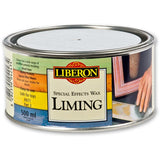 Liberon Liming Wax is a white wax used to create a limed effect on oak and other hard woods.