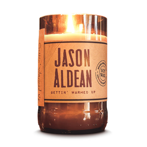"""Gettin' Warmed Up"" Candle"