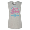 High Noon Neon Grey Pink Ladies Tank Top