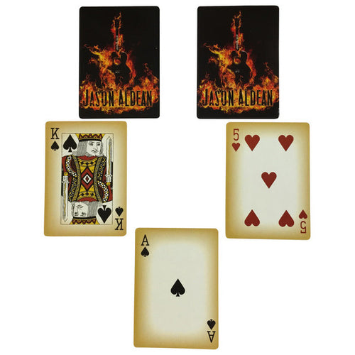 Jason Aldean Playing Cards