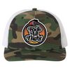Ride All Night Tour Camo Trucker Hat