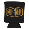 Black Ride All Night Tour Koozie