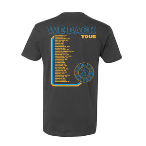 We Back Tour Charcoal Photo Tee