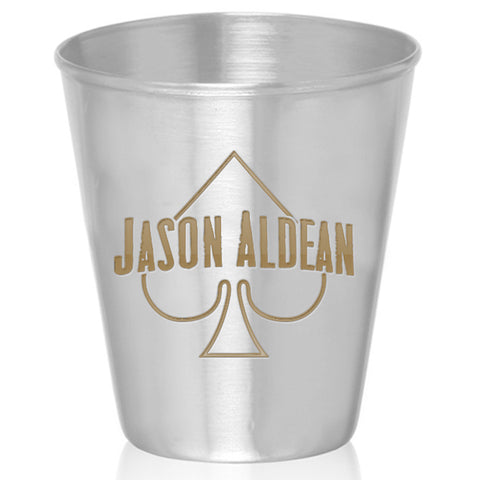 Spade Stainless Steel Shot Glass (Gold)