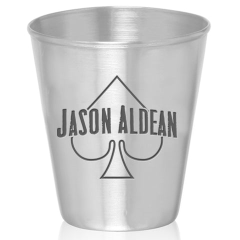 Spade Stainless Steel Shot Glass