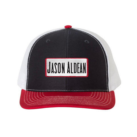 Black Red Trucker Hat