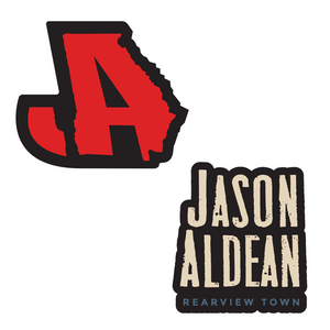 Jason Aldean Rearview Town Pin Set