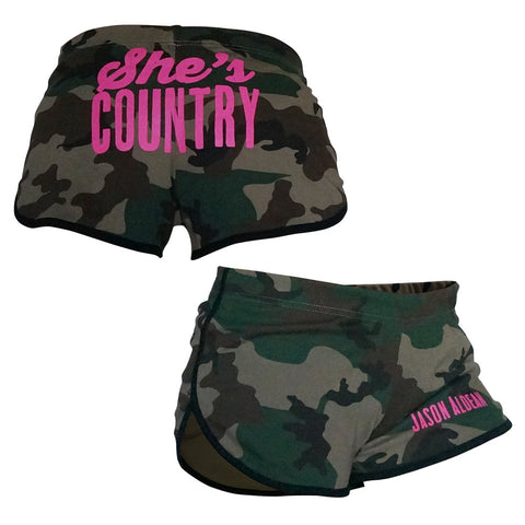 She's Country Hot Shorts