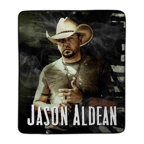 Jason Aldean 9 Fleece Blanket