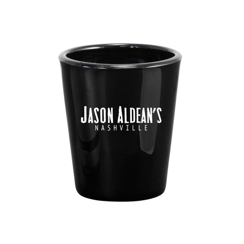 Jason Aldean's Nashville My Kinda Party Black Shot Glass