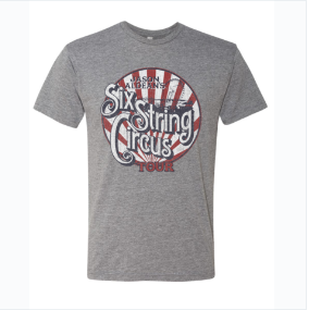 Six String Circus Tour Tee