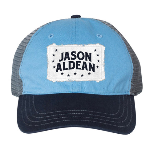 Blue Star Trucker Hat