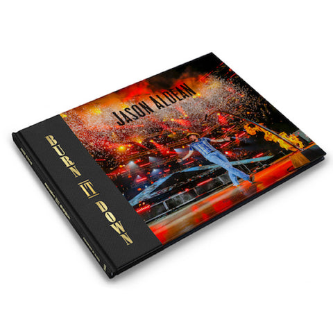 Jason Aldean BURN IT DOWN Photo Book
