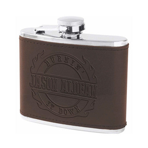 Burnin' It Down Flask