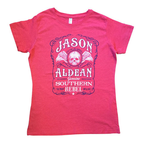 Red Ladies Southern Belle Tee