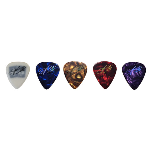 Set of 5 Guitar Picks