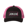 Pink Black Trucker Hat