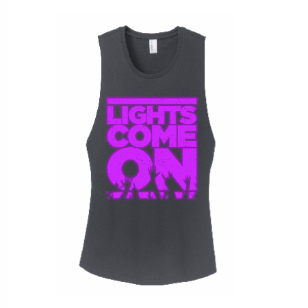 Lights Come On Ladies Tank Top