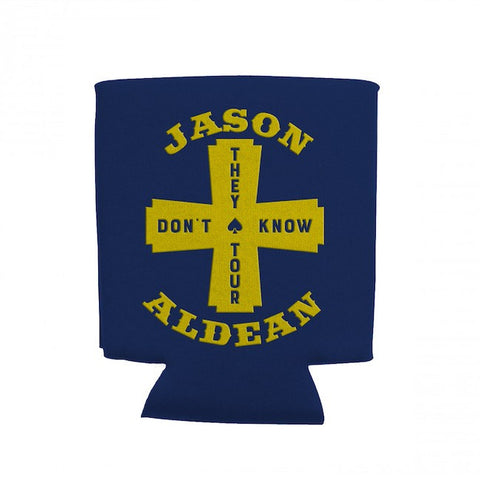 'They Don't Know Tour' Cross Logo Koozie