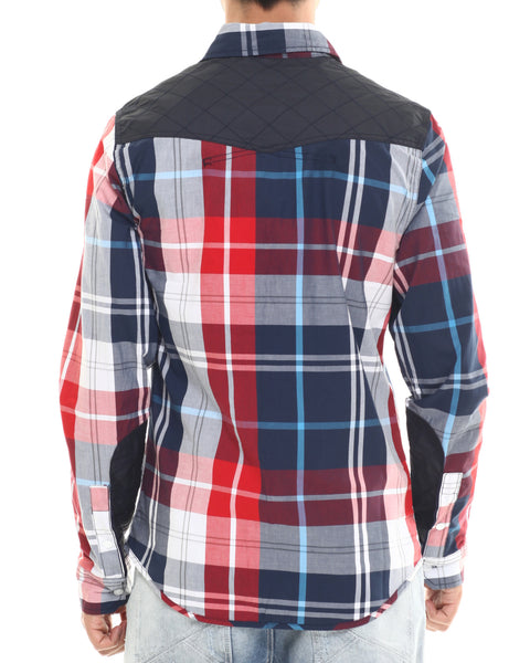 parish nation l  s navy  u0026 red plaid woven  u2013 dee u0026 39 s urban fashion
