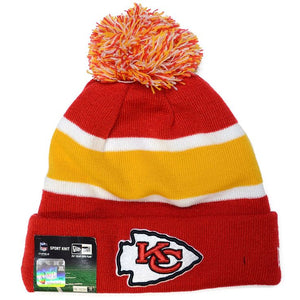 Rare New Era Kansas City Chiefs KC OnField Sideline Sport Knit Hat Beanie ef94bf915490