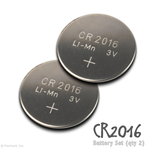 [CR2016] Battery Set - Flashflight.com