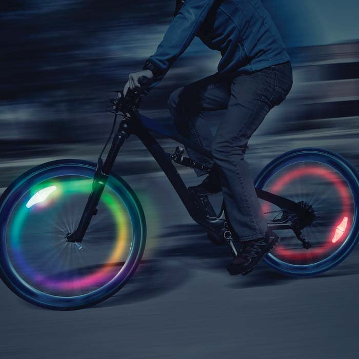 SpokeLit® LED Wheel Light - Disc-O Select™