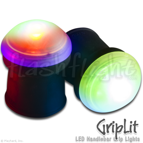 GripLit LED Handlebar Lights - Flashflight.com - 3