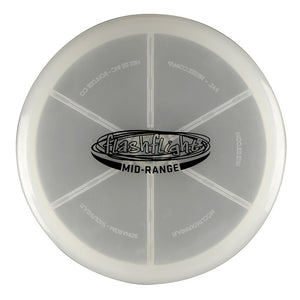 Flashflight LED Light Up Golf Disc Mid Range 'Disc-O Select'