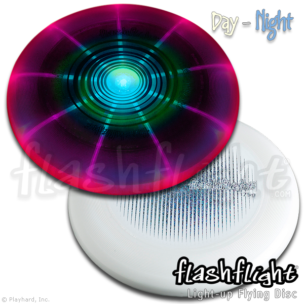 Flashflight 24/7 Combo Pack LED 'Disc-O' Light Up Flying Disc - Ultimate Disc