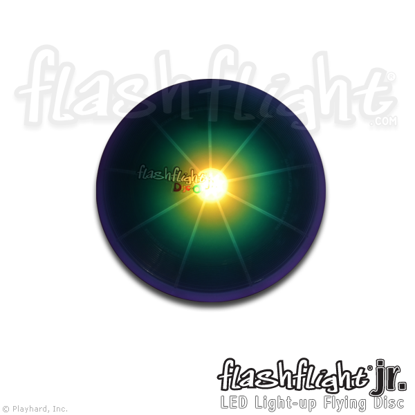 Flashflight jr LED Light-Up Flying Disc - Flashflight.com - 3