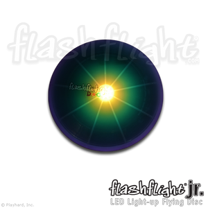 Flashflight Jr LED Light-Up Flying Disc 'Disc-O'