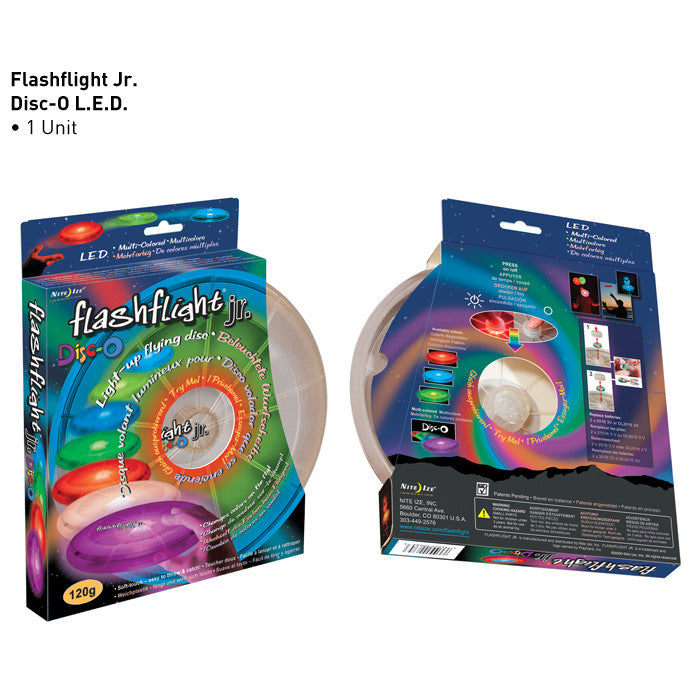 Flashflight jr LED Light-Up Flying Disc - Flashflight.com - 5
