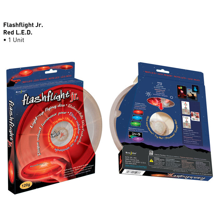 Flashflight jr LED Light-Up Flying Disc - Flashflight.com - 6