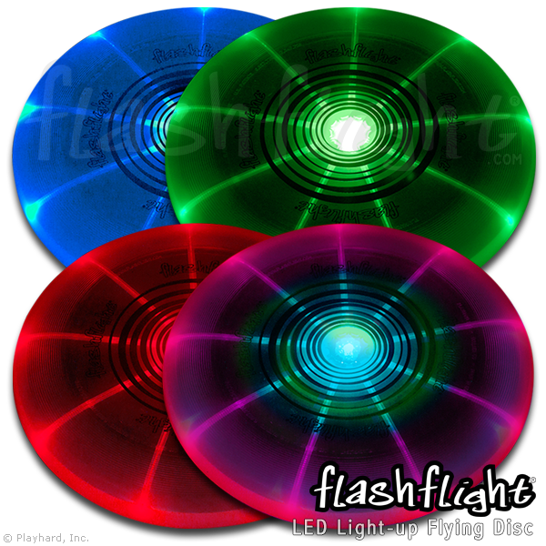 Flashflight LED Light-Up Flying Disc - Flashflight.com - 1