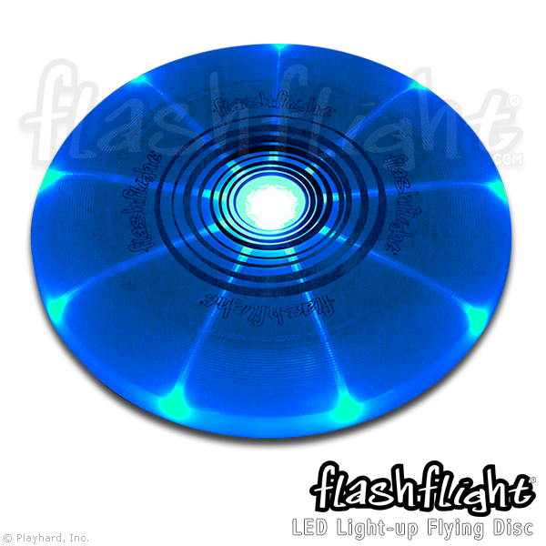 Flashflight LED Light-Up Flying Disc - Flashflight.com - 5