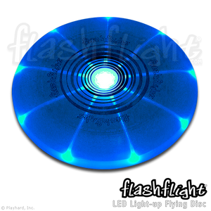 Flashflight LED Light-Up Flying Disc 'Blue'