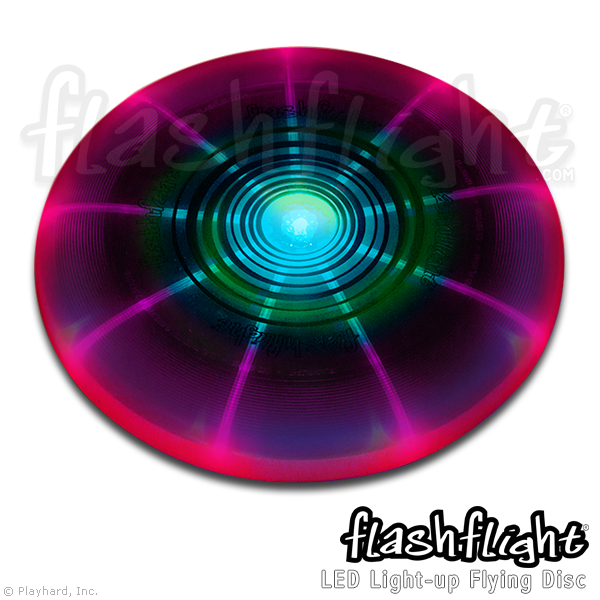 Flashflight LED Light-Up Flying Disc - Flashflight.com - 2