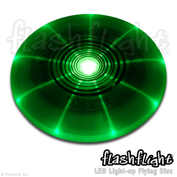 Flashflight LED Light-Up Flying Disc - Flashflight.com - 4