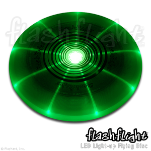 Flashflight LED Light-Up Flying Disc 'Green'