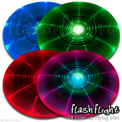 Light-Up Flying Discs & Balls