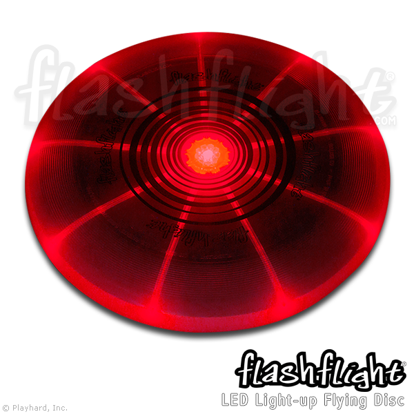 Flashflight LED Light-Up Flying Disc - Flashflight.com - 3
