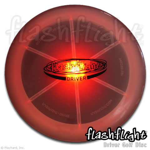 Flashflight LED Light Up Golf Disc - Driver - Flashflight.com - 1