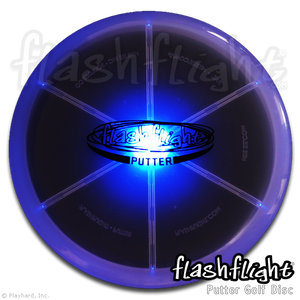 Flashflight LED Light Up Golf Disc Putter 'Disc-O Select'