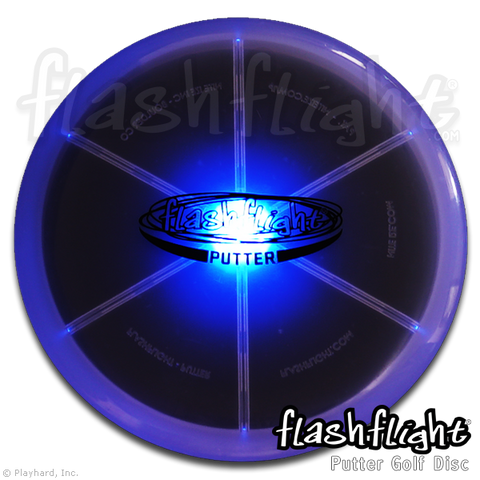 Flashflight LED Light Up Golf Disc - Putter - Flashflight.com - 1