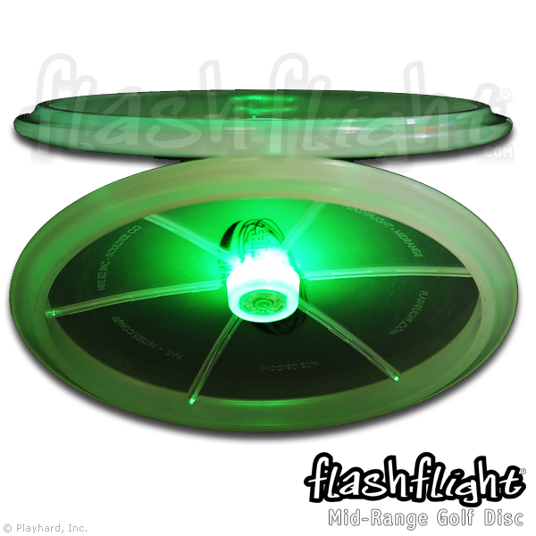 Flashflight LED Light Up Golf Disc - Mid-range - Flashflight.com - 2